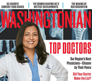 Top Doctor 2018 By Washingtonian Magazine